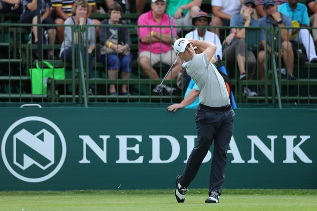 Wang leads Nedbank Challenge in Sun City after superb 64