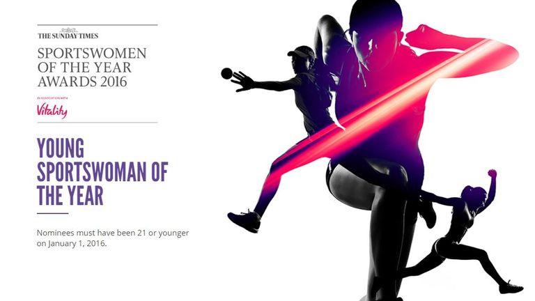 The Sportswomen winners will be revealed on December 8