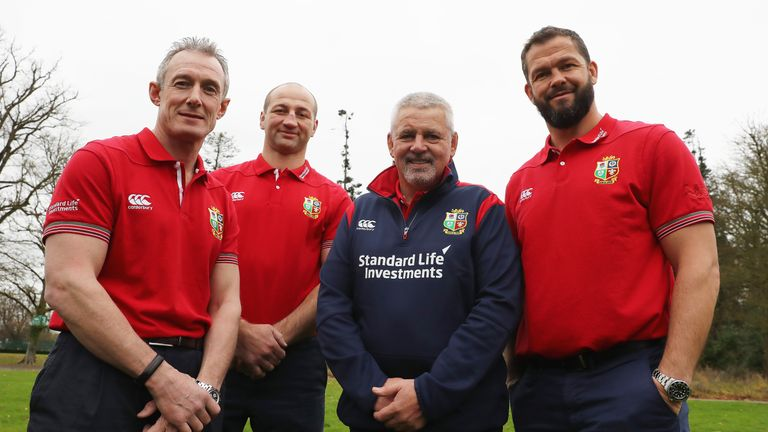 Warren Gatland to name Lions coaches for New Zealand tour