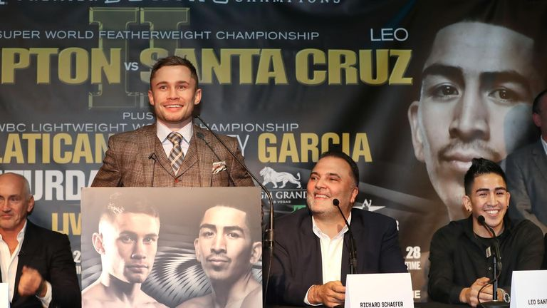 Carl Frampton is expecting 4,000 fans to head to Las Vegas (PBC)