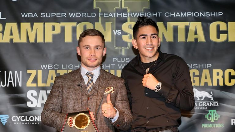Carl Frampton and Leo Santa Cruz meet again in January (PBC)