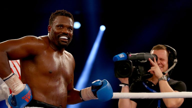 Dereck Chisora throws table at Dillian Whyte in heated press conference