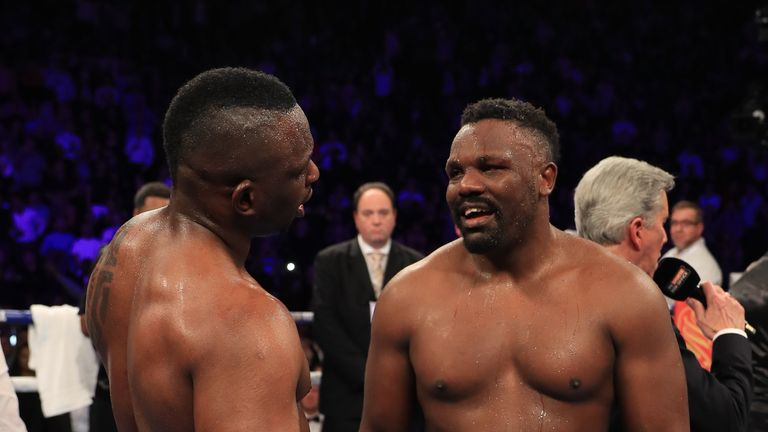 Dereck Chisora will appear on the same bill as Dillian Whyte, live on Sky Sports
