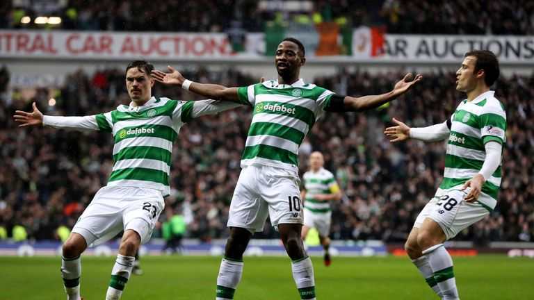 Moussa Dembele has score five goals in three matches in all competitions against Rangers