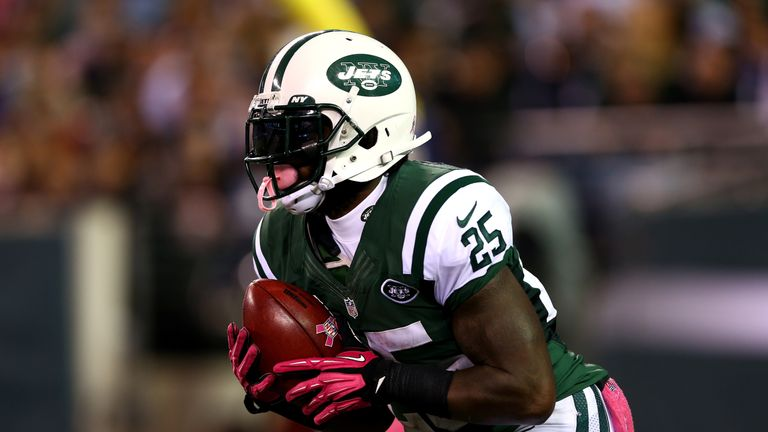Joe McKnight spent most of his NFL career with the Jets