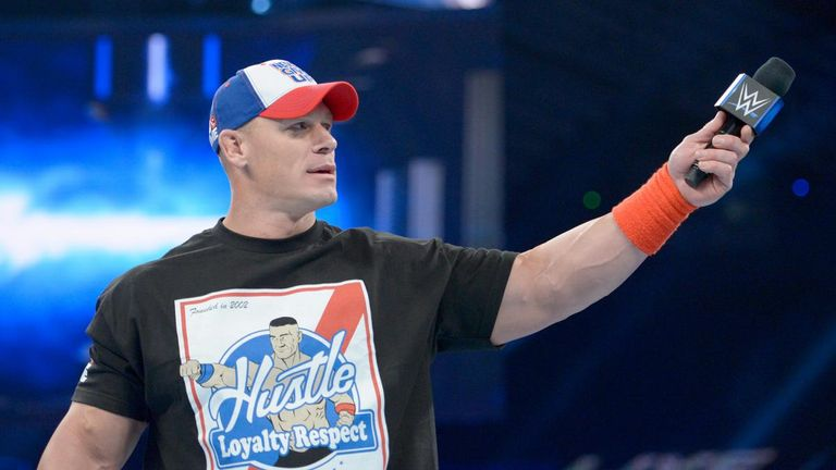 John Cena returns to action, issues Royal Rumble challenge