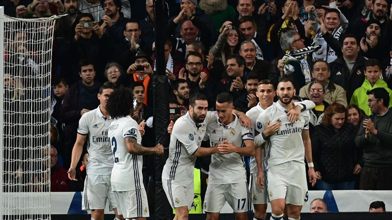 Karim Benzema scored twice against Borussia Dortmund but Real Madrid had to settle for second spot behind the Germans in Group F