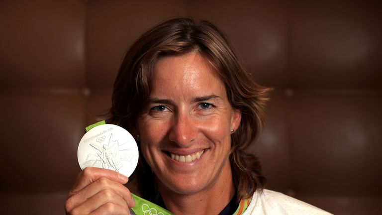 Katherine Grainger was made a Dame for services to rowing and charity