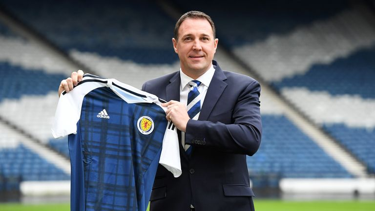 Malky Mackay has taken temporary control of Scotland for a friendly against the Netherlands