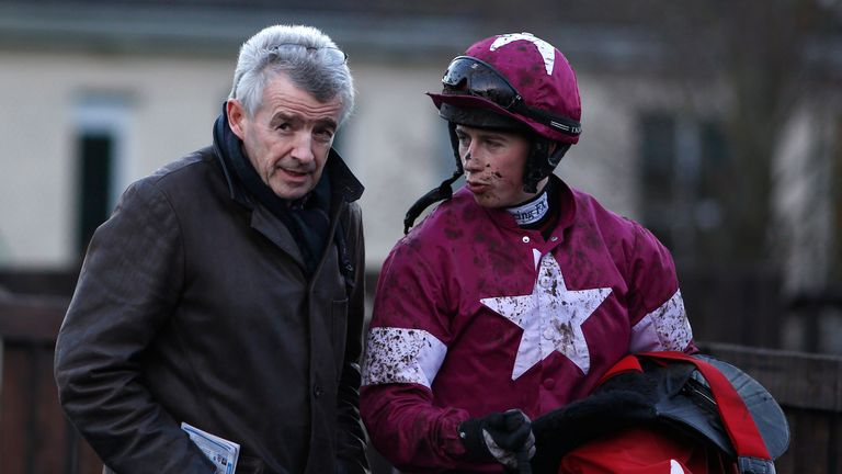 Irish jockey Bryan Cooper set for lengthy layoff after fracturing his pelvis