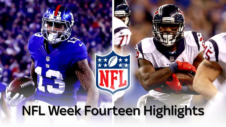 Watch All Of The Nfl Week 14 Highlights Nfl News Sky
