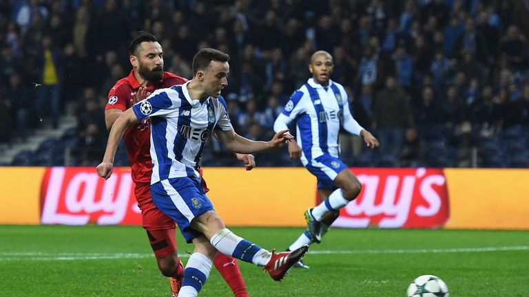 Porto beat Leicester 5-0 at home in the Champions League group stage