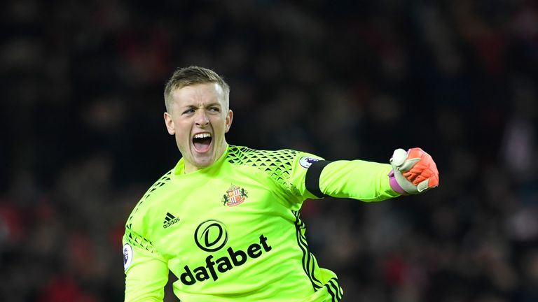 Jordan Pickford has been linked with a big move in the summer transfer window