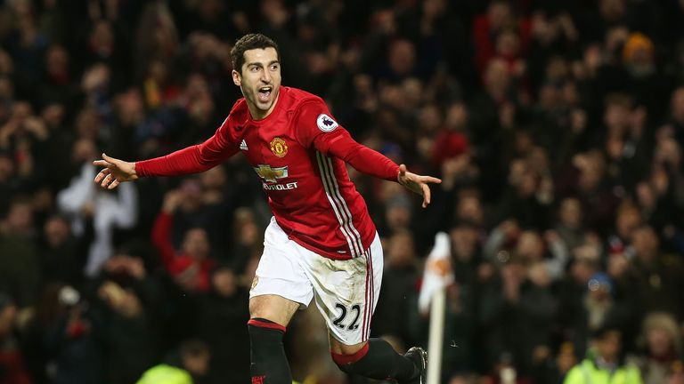 Henrikh Mkhitaryan scored a superb third for Man Utd