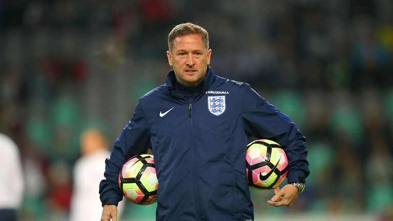 Steve Holland has been England assistant coach since 2016