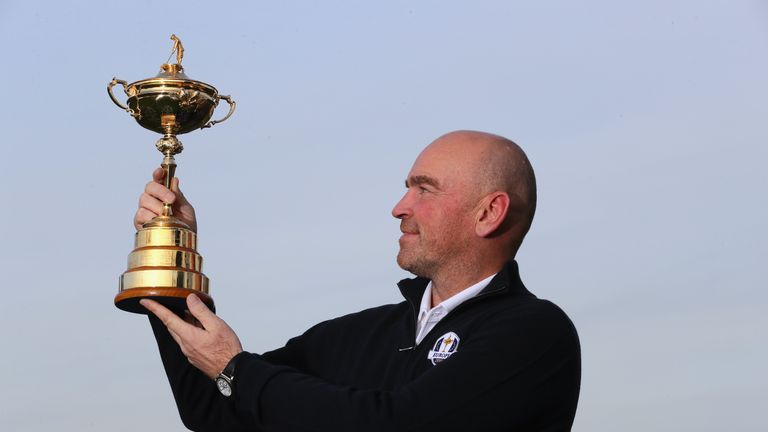 Thomas Bjorn will captain Europe at the 2018 Ryder Cup