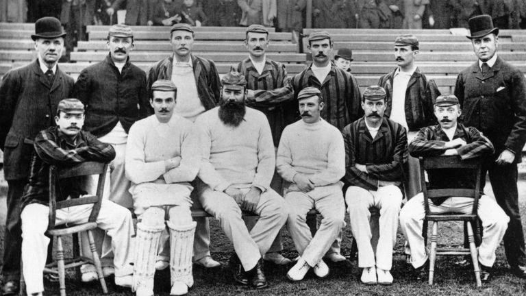 WG Grace Captained England In The 1891 92 Ashes Australia