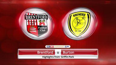 Brentford 2-1 Burton