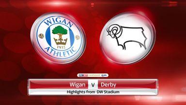Wigan 0-1 Derby