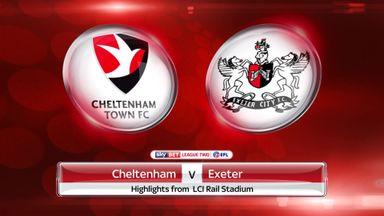 Cheltenham 1-3 Exeter