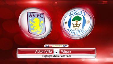 Aston Villa 1-0 Wigan