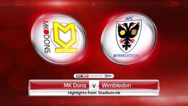 MK Dons 1-0 Wimbledon