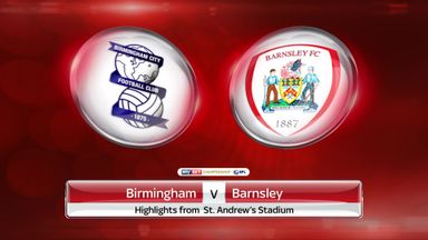 Birmingham 0-3 Barnsley