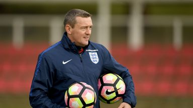 Aidy Boothroyd has been managing the England U21s team on an interim basis