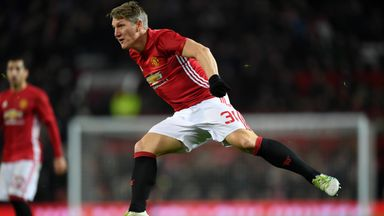 Bastian Schweinsteiger featured in Manchester United