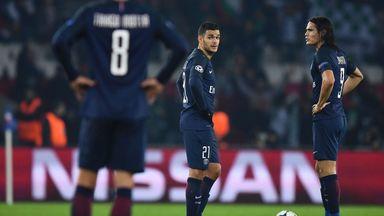 Hatem Ben Arfa and Edinson Cavani were part of the PSG side that drew with Ludogorets