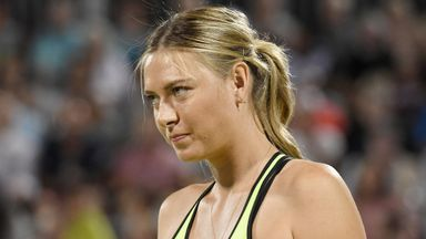 Maria Sharapova is due to return to the WTA tour in April