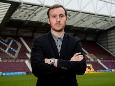 Hearts' new head coach Ian Cathro will take charge for the first time against Rangers
