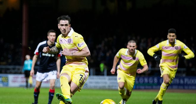 Jamie Walker: Hearts turn down Rangers bid for attacker