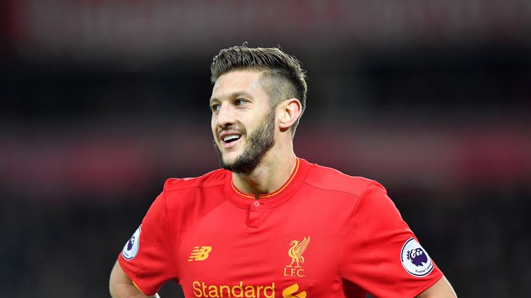 Adam Lallana injured his groin during England's draw with Spain last month