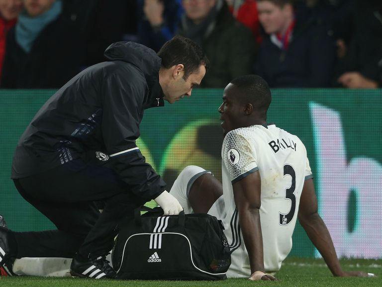 No serious injury for Manchester United defender Bailly