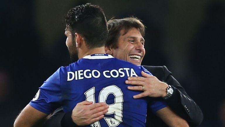 A text message Antonio Conte sent to Diego Costa played a key role in his sacking, Sky sources understand