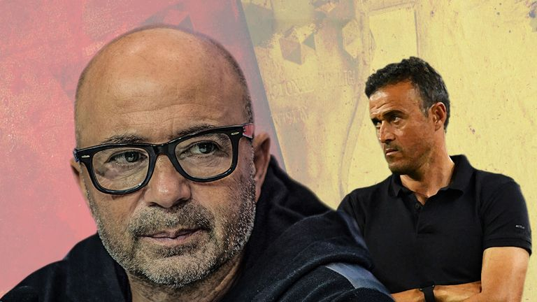 Sevilla coach Jorge Sampaoli may replace Luis Enrique at Barcelona next season