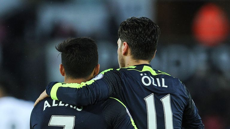 Will either Mesut Ozil or Sanchez be at the club next season?
