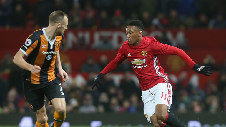 Anthony Martial has disputed reports of his desire to leave United