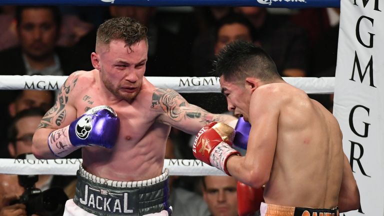 Carl Frampton is a two-weight world champion
