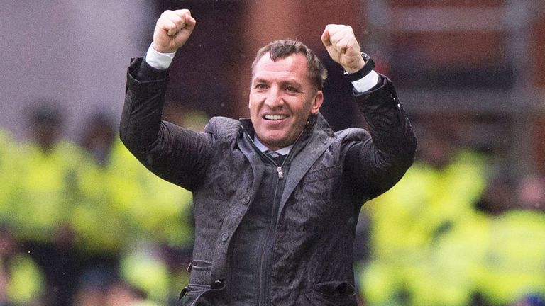 It is the third time Rodgers has won the monthly prize since taking over in the summer
