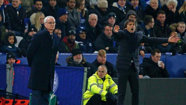 Leicester boss Claudio Ranieri says Premier League leaders Chelsea can be caught