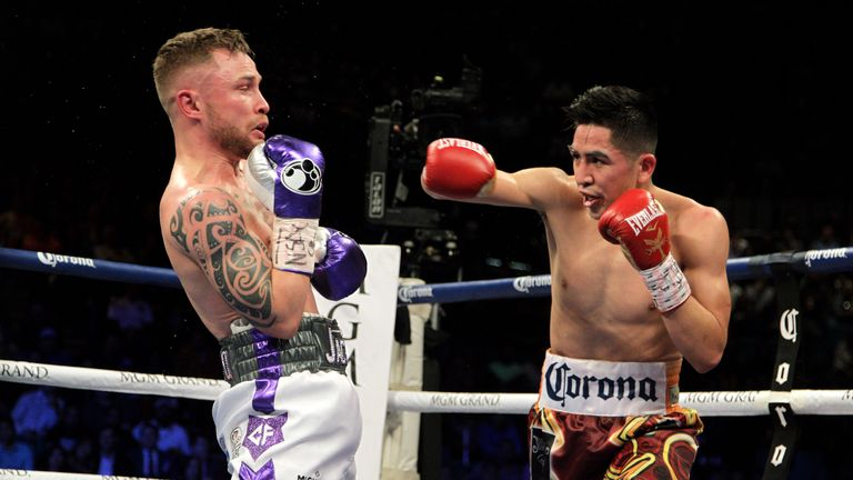 Santa Cruz avenged his defeat to Frampton by winning the second fight