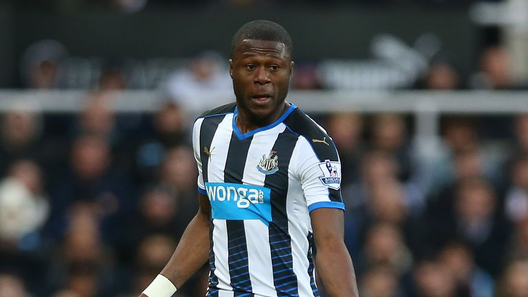 Chancel Mbemba has struggled for first-team games at Newcastle