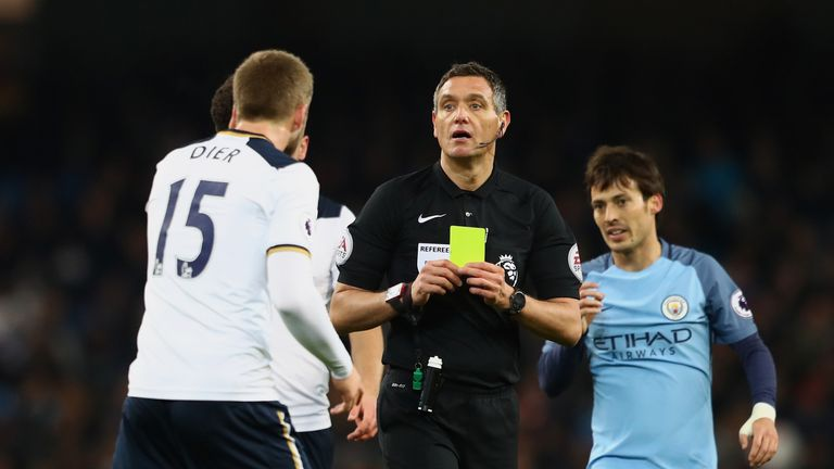 Referee Andre Marriner is one of the Premier League's top officials