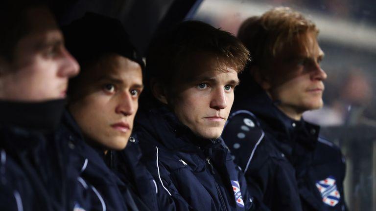 Odegaard has joined Heerenveen on an 18-month loan deal