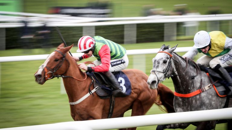 Cloudy Dream (right): Going to Aintree