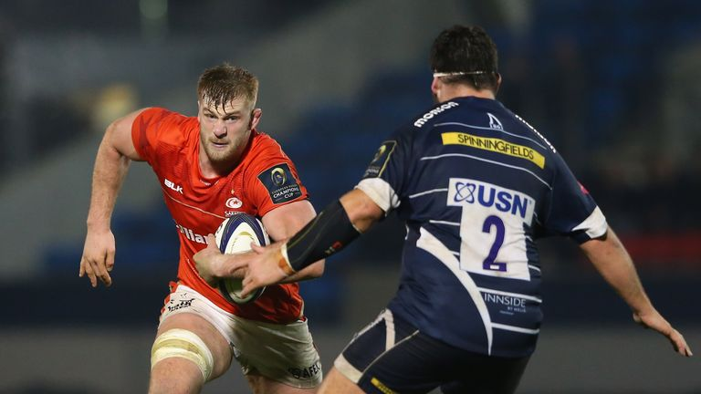 Kruis will miss both of Saracens' Champions Cup matches in January