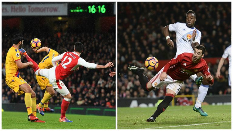 Olivier Giroud v Henrikh Mkhitaryan: Which goal was better?