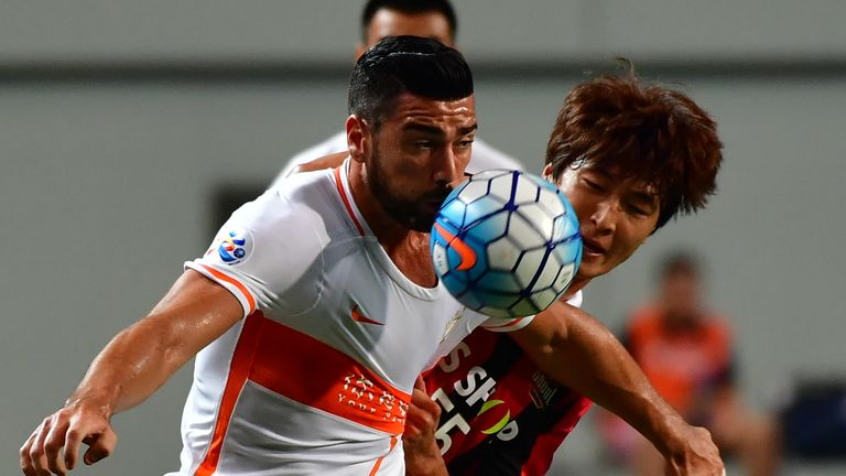 Graziano Pelle left the Premier League to join China's Shandong Luneng FC